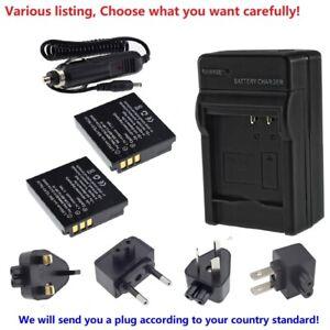 CGA-S005 Battery for Panasonic Lumix DMC-FS1 FS2 FX01 FX07 FX1 FX3 FX07 FX8 FX9