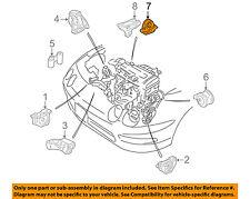 HONDA OEM-Engine Motor Mount Torque Strut 50810ST0980
