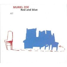 MURIEL ZOE - RED AND BLUE  CD NEW+