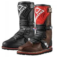 NEW Hebo Tech 2.0 Leather Trials Boot in Black or Brown
