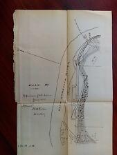 1883 Sketch Map of Pend D'Oreille Joko River