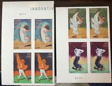 Innovative Choreographers 4698-4701 Forever MNH Plate Blk of 4 2012