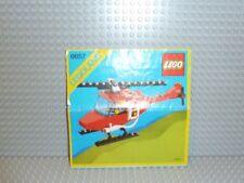 LEGO® Town Classic Bauanleitung 6657 Feuerwehr Heli ungelocht instruction B227