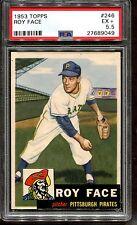 1953 Topps #246 Roy Face RC PSA 5.5 +++ Looks Nicer