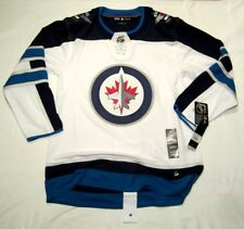 WINNIPEG JETS sz 50 = Medium ADIDAS NHL HOCKEY JERSEY Climalite Authentic White