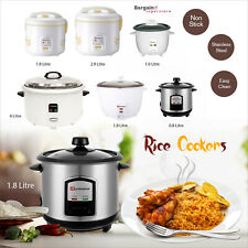 Rice Cooker Steamer Warmer Cooking Pot Non Stick Electric Keep Warm Function