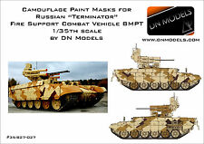 Camouflage Paint Masks Russian TERMINATOR 1/35 Fire Support Vehicle BMPT Camo