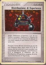 POKEMON - Distribuzione di Esperienza 91/112 - Ex Rosso Fuoco Verde Foglia -ITA