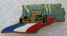 Pin's Voiture Formule 1 F1 NEVERS MAGNY COURS 92  Arthus Bertrand #972