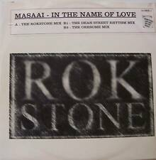 "MASAAI ~ In The Name Of Love ~ 12"" Single PS"
