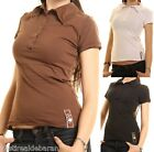 Polo T-Shirt Donna Maglietta ZONA BRERA 1001 LUCKY A203 Tg. S M L **