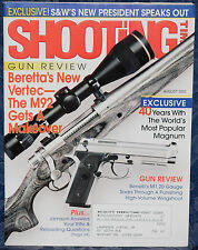 Magazine SHOOTING TIMES August 2002 ! BENELLI Model M1 FIELD 20-GAUGE SHOTGUN !