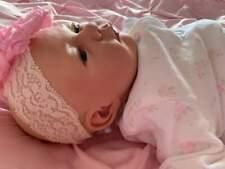Made To Order Stunning Reborn Baby Girl Anna Newborn Child Friendly 3