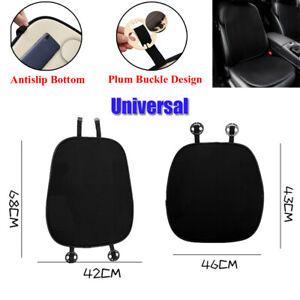 Two-piece Comfortable Summer Ice Silk Car Seat Cushion Universal Antislip Bottom