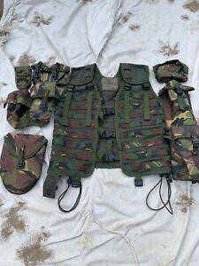 Dutch Military DPM Olive Green MOLLE Modular Webbing Platform Tactical Vest 3