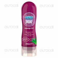 Gel Lubrificante ALOE VERA DUREX Play MASSAGE 2in1 Gel Intimo per Massaggi