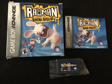 Rayman Raving Rabbids (Nintendo Game Boy Advance/SP/DS) Complete In Box: TESTED!