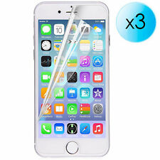 3x FILM PROTECTOR D PANTALLA ULTRA TRANSPARENTE CRYSTAL CLEAR iPhone 6 Plus 5.5""