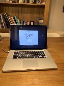 "MacBook pro 15-inch ""core I7"" Mid-2012 Laptop"
