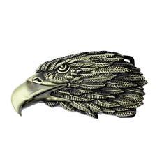 Men's Belt Buckle Fashion Classic Western 3d American Popular Eagle Head