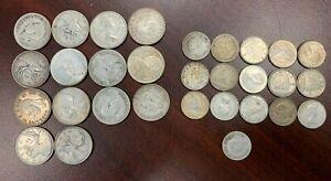 Canadian Canada 80% Silver Lot $5.10 FV NO RESERVE Junk Silver
