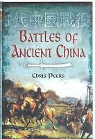 Battles of Ancient China - Chris Peers NEW Hardback 1st edition