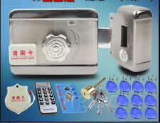 DC12V Door and gate Access Control system Electronic integrated RFID lock