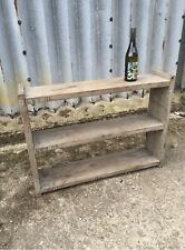 Small And Wide 3 Shelve Industrial Up-Cycled Unit