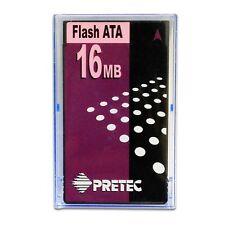 New 16MB Pretec ATA PCMCIA Flash Memory PC Adapter Card Type II PN# AFU016-P