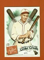 2019 Topps Allen & Ginter Ginter Greats GG-29 Mel Ott New York Giants