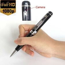 Full HD 1080P Video Recorder DVR Pinhole Cam Secret Lens Hidden Spy Pen Camera