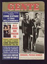 GENTE 50/1973 KENNEDY MICHELE VINCI TEBALDI CORELLI AGFA MOVEXOOM 4000 NADA