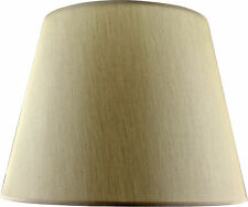 Beige Fabric Tapered Shade Large (Width 48cm x Height 36cm)