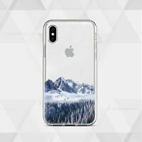 Mountains iPhone 11 7 8 Snowy Landscapes Case Nature iPhone 12 XS SE XR 6 X Case