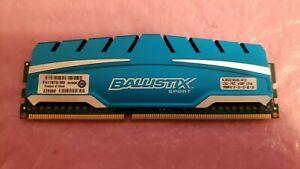 Crucial Ballistix Sport XT 8GB PC3-14900 DDR3 1866MHz Desktop RAM Memory