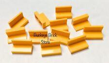 LEGO 1x2x1 YELLOW PANEL - Lot of 12