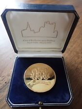 City of Rochester Upon Medway 1974-1998 Medallion in Presentation Case