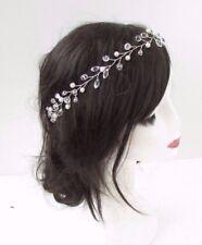 Ivory Pearl Bead Hair Vine Headband Bridal Clip Headpiece Bridesmaid 4444