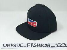NIKE X RICCARDO TISCI RT OS BLACK 6 PANAL SNAPBACK CAP HAT 943084-010 STAR AF1