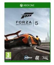 XBOX ONE FORZA MOTORSPORT 5 (Xbox One) NUOVO - 1st Class consegna