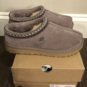 New UGG Women's Size 10 Tasman Slipper SYGR Taupe Gray