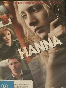 Hanna Saoirse Ronan Eric Bana Cate Blanchett DVD Brand New