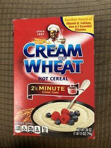 Cream Of Wheat Cereal Box