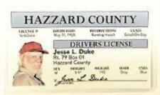 """""""Uncle Jesse"""" Novelty Driver License"""