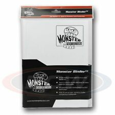 9-POCKET MONSTER PROTECTOR BINDER - MATTE WHITE