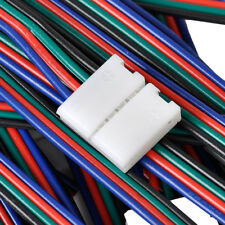 4-Pin PCB Quick Connector Wire Cable for 5050 SMD RGB LED flexible Strip Light