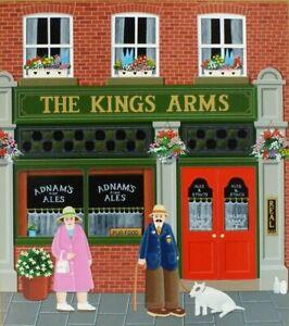 """The Kings Arms"" Peter Heard L/E Silkscreen"