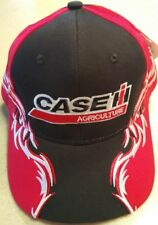 Case IH Agriculture Red, White & Black Embroidered Solid Flame Hat