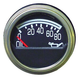 Crown Automotive J5750279 Oil Pressure Gauge Fits 76-86 CJ5/CJ7/Scrambler