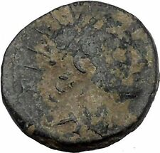 ANTIOCHOS IV EPIPHANES Seleukid 175BC Zeus Rare R1 Ancient Greek Coin  i50371